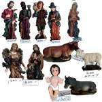 Polyresin Nativity set, Religious Statues