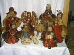 China Ceramic, Catholic, Religious Statues, Nativity
