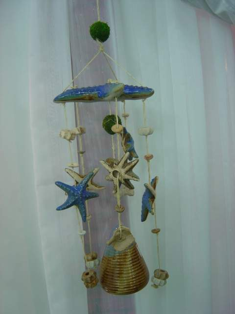 China Ceramics Pottery Wind Chime Are Made From Porcelain