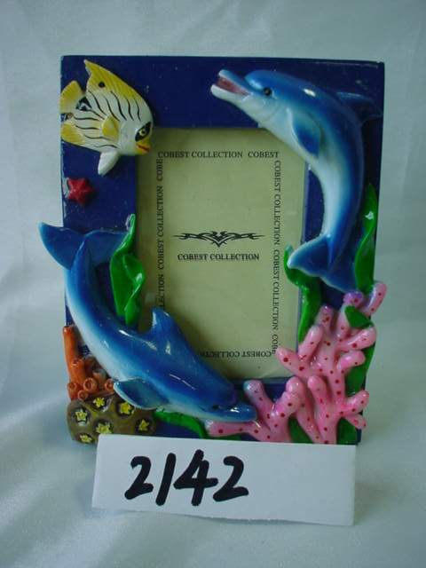 Polyresin Polystone Figurines Dolphins
